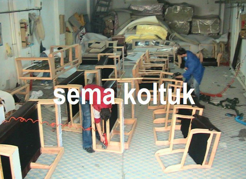 koltuk imalatı atölyesi