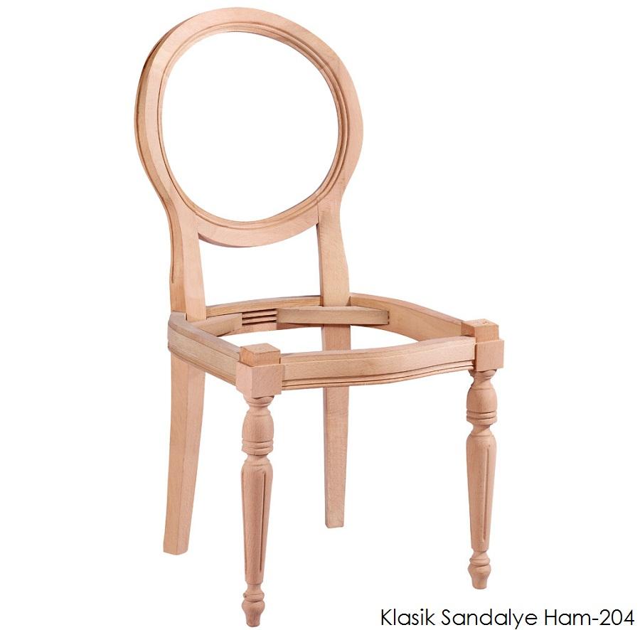 klasik oval sandalye