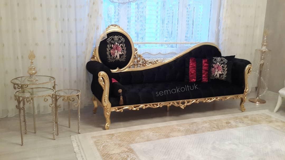 erenköy kılasık altın varaklı kanepe  döşeme atölyesi