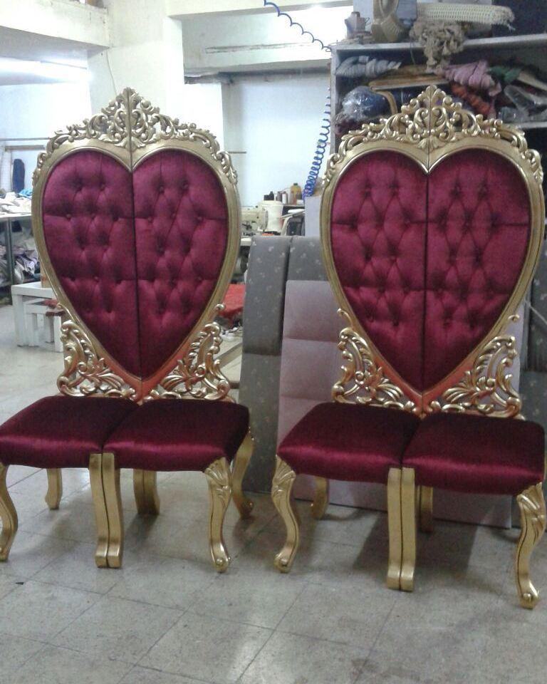Gelin sandalyesi imalatı kılasık el oymalı