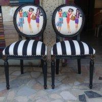 caddebostan cizgili  sandalye döşeme modelleri
