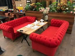 cafe chester kanepe ve masa imalatı